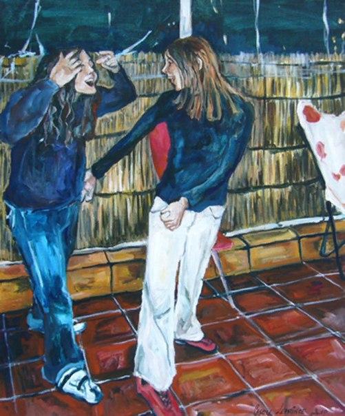 Кэрол Лепринс (Carole Leprince) - французский художник. Родилась в 1966 году, в Париже. Выросла в Бретани, начала рисовать в 1992 году. В 1995 году она училась на семинаре изобразительного искусства в Клиши, где изучала основы рисования. Она посещала эти