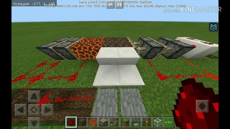 Как построить простой лифт в майнкрафт   How to build a simple lift in minecraft