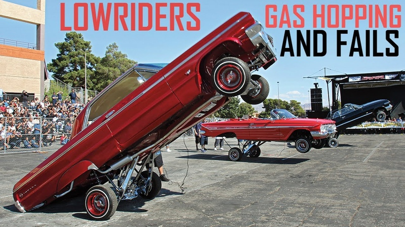 Ultimate Lowriders Hopping Fail Compilation - GAS HOPPING, HITTIN' SWITCHES