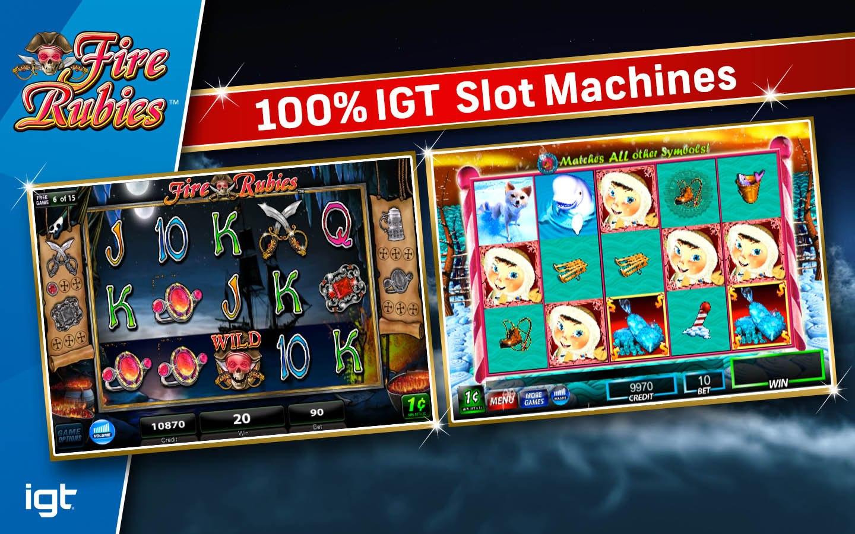 Игровые автоматы и онлайн-слоты IGT