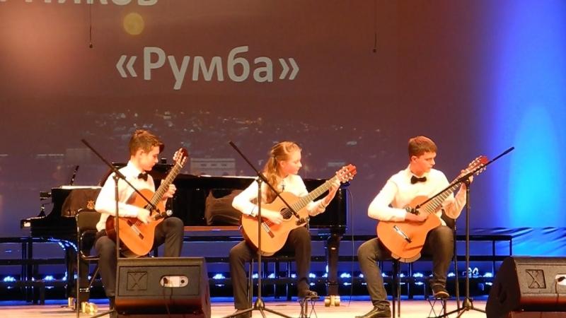 Трио гитаристов: А.Шеварухина, А.Савинцев, И.Зайцев