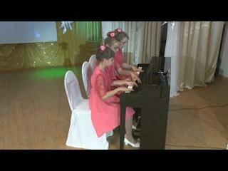 Фортепианное трио: Резанова Анна, Инова Анна, Цимбалист Юлия - «Старинный гобелен» И.Тамарин
