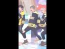 180405 Фанкам на Кью на выступление с песней 'Giddy Up' от M!Countdown