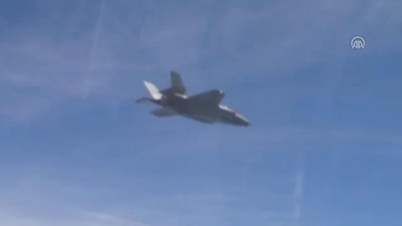 Türkiye için üretilen ilk F-35A uçağı