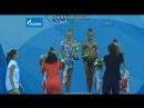 Церемония награждения - командное многоборье Yoldiz Cup 2015, Казань