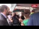Orfini va al mercato chiedendo alla Marcello