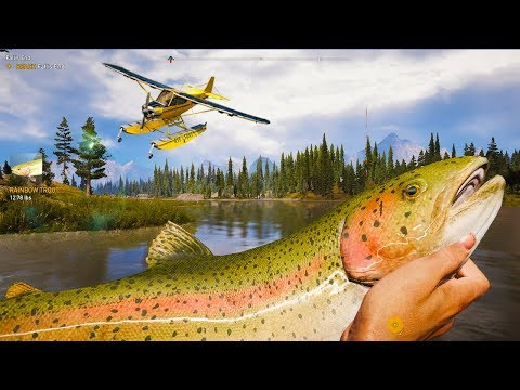 FAR CRY 5 - Fails Funny Moments! 3 (Fishing Gone Wrong, Stealth Outpost Liberations!)