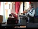 Мирзоян Давид- синтезатор, Алексей Грызлов -труба. Л.Уэббер Память