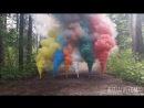 Smoke Fountain Цветной дым