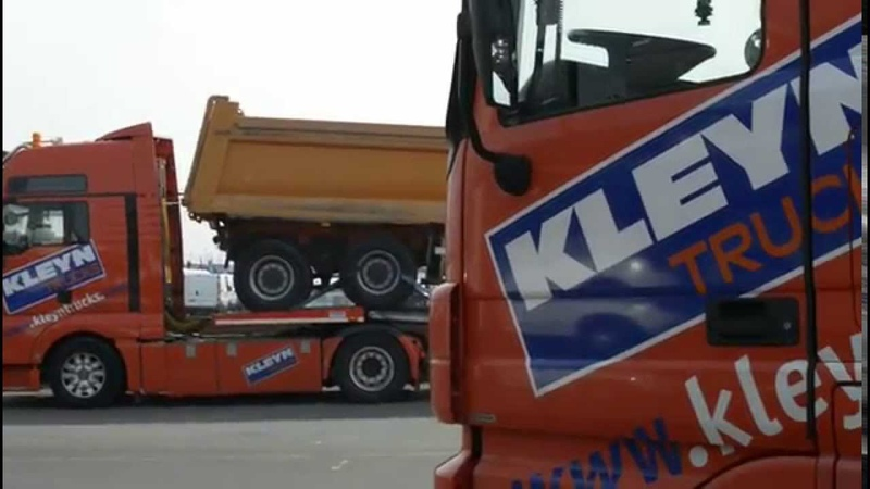 Exporting a Truck - What we do for our customers