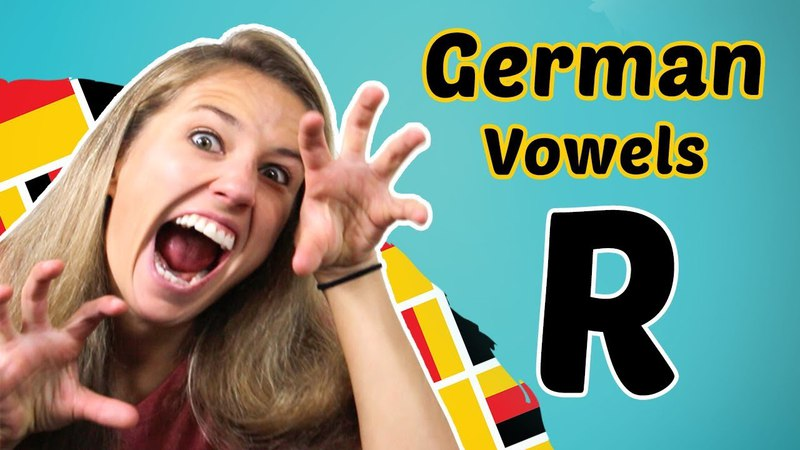 GERMAN PRONUNCIATION 9 How to PRONOUNCE the GERMAN R 😳😳😳