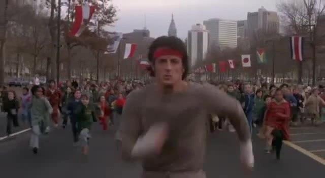 Rocky II - Rockys Run (1979)