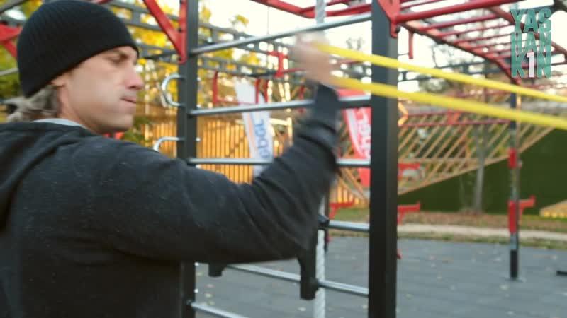 Тренировка с эспандером «петля»