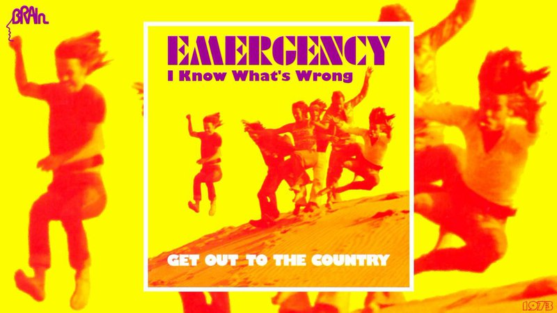 Emergency - I Know What's Wrong (CD Version) [Jazz-Rock - Krautrock] (1973)
