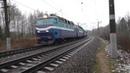 Электровоз ЧС7 054 с вагоном