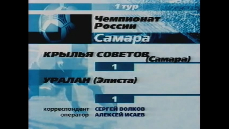 Крылья Советов(Самара) Обзор Сезона 2002