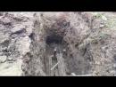 Прокол под дорогой Кротом под водопровод в Невинномысске