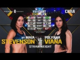 UFC FIGHT NIGHT 125 Maia Stevenson vs. Polyana Viana