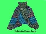 Bohemian Yoga Harem Pants By Mogulinteriordesigns