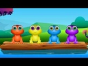 Five little speckled frogs Song for children