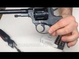 Обзор и стрельба револьвер Наган схп ( ВПО-526)