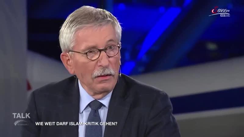 Talk im Hangar-7- Wiesinger Sarrazin- Wie weit darf Islamkritik gehen