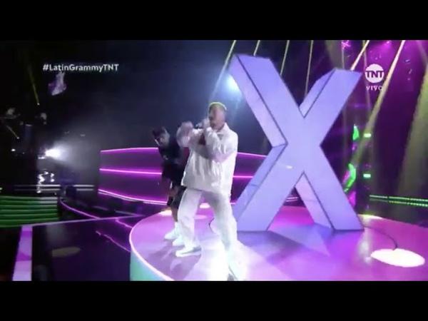 LATIN GRAMMYS 2018 Nicky Jam ft J Balvin Steve Aoki X Jaleo