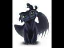 Toothless and Cat Speed Art ( 720 X 1280 )