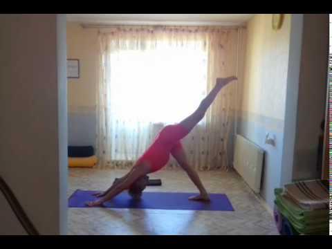 Йога Демо №1. Йога в Саранске. (Восстанавливаемся после горных травм.) Yoga Demonstration