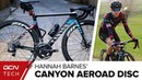 Hannah Barnes' Canyon Aeroad CF SLX Disc Training Bike