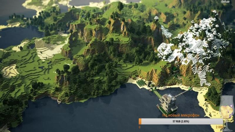 Minecraft играем на остров с модами, жёстко тут у нас :))