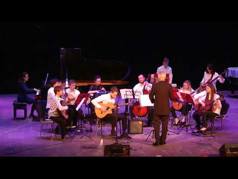 А.Марчелло - И.С.Бах Концерт ре-минор (BWV 974)Оркестр гитаристов Анимато дирижёр Г.Фетисов