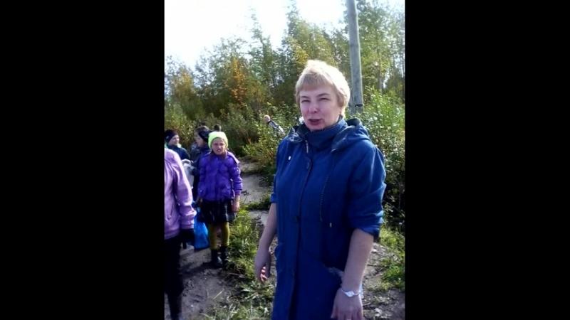 Вера Валентиновна делится впечатлениями о проделанной работе.