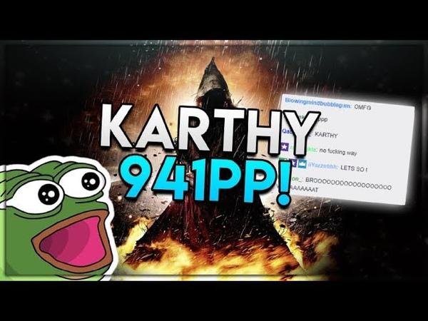 Osu! | Karthy 🇬🇧 | GYZE - HONESTY [DISHONEST] HDHR 99.76 FC 1 | 941pp | NEW STD PP RECORD!