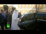 «Как красиво!»- Путин показал наследному принцу Абу-Даби лимузин проекта «Кортеж»