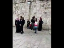 Israeli occupation forces arrested 2 Palestinian girls from the yards of Al Aqsa mosque Jerusalem 😐😐 Palestine