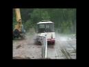 СтройДорДеталь - испытания дорожных ограждений (автобус)
