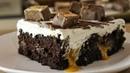 Το γλυκό της Γιορτής μου Γλυκό ψυγείου Snickers Snickers Poke Cake