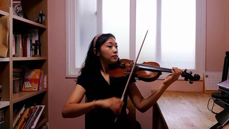 스즈키 1권 고세크 가보트 초급 기초 바이올린 배우기 바이올린 레슨 강사 김4