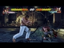 Геймплей Tekken 7 аркадные бои PS4