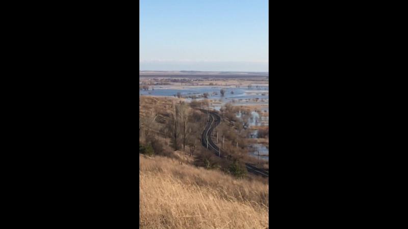 Разлив реки Савала в Новохоперске