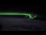 Полярное сияние из космоса