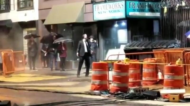 KEANU REEVES rodando JOHN WICK 3 en Manhattan