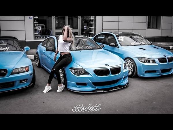 Подборка идиотов за рулем BMW Аварии беспредел на дорогах 2017