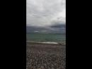 Шторм на Черном море.
