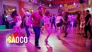 Svetlana Levchenko and Leonid Sveshnikov Salsa Dancing in Respublica Vosmera, Saturday 28.04.2018 (S