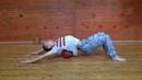Self-massage with ball (самомассаж спины мячом)