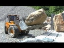 HEAVY RC MACHINES AT THE BIG STONE MINE STRONG VOLVO EQUIPMENT RC LIVE ACTION