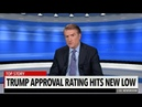 Trump's Approval Ratings Hit A New Low