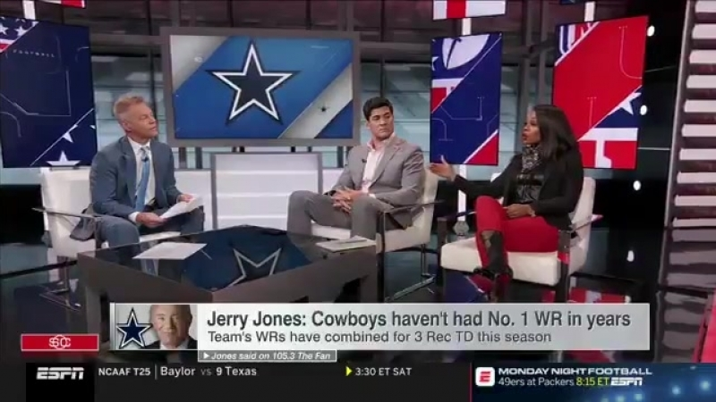 ESPN's Josina Anderson on Allen Hurns' quote about Dak's 2nd INT vs Texans